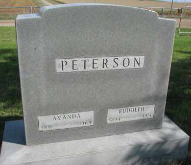 PETERSON, AMANDA - Clay County, South Dakota | AMANDA PETERSON - South Dakota Gravestone Photos