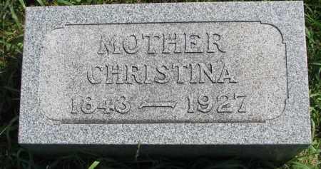 PETERSON, CHRISTINA - Clay County, South Dakota   CHRISTINA PETERSON - South Dakota Gravestone Photos