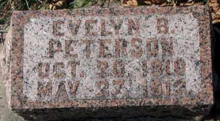 PETERSON, EVELYN B. - Clay County, South Dakota | EVELYN B. PETERSON - South Dakota Gravestone Photos