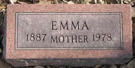 PETERSON, EMMA - Clay County, South Dakota | EMMA PETERSON - South Dakota Gravestone Photos