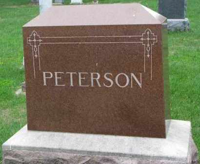 PETERSON, FAMILY STONE - Clay County, South Dakota | FAMILY STONE PETERSON - South Dakota Gravestone Photos