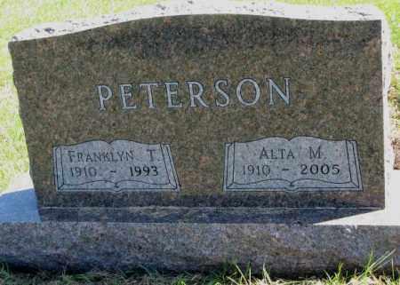 PETERSON, ALTA M. - Clay County, South Dakota | ALTA M. PETERSON - South Dakota Gravestone Photos