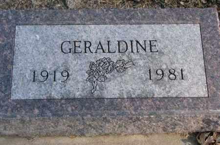 PETERSON, GERALDINE - Clay County, South Dakota | GERALDINE PETERSON - South Dakota Gravestone Photos