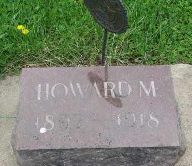 PETERSON, HOWARD M. - Clay County, South Dakota   HOWARD M. PETERSON - South Dakota Gravestone Photos