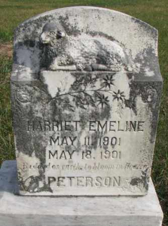 PETERSON, HARRIET EMELINE - Clay County, South Dakota | HARRIET EMELINE PETERSON - South Dakota Gravestone Photos