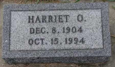 PETERSON, HARRIET O. - Clay County, South Dakota | HARRIET O. PETERSON - South Dakota Gravestone Photos