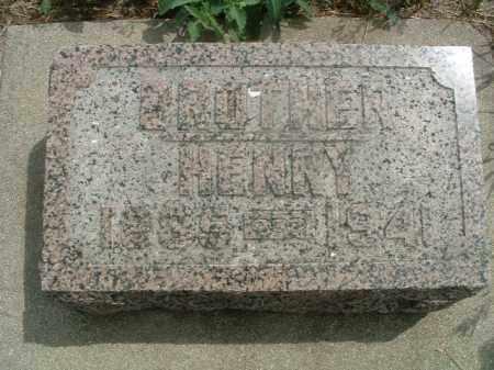 PETERSON, HENRY - Clay County, South Dakota | HENRY PETERSON - South Dakota Gravestone Photos