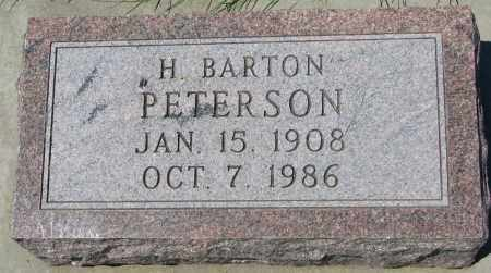 PETERSON, H. BARTON - Clay County, South Dakota | H. BARTON PETERSON - South Dakota Gravestone Photos