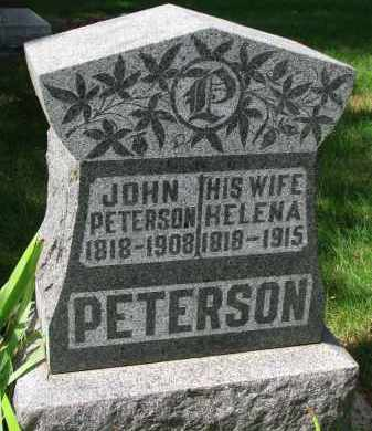 PETERSON, JOHN - Clay County, South Dakota | JOHN PETERSON - South Dakota Gravestone Photos
