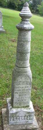PETERSON, JOHN ALFRED - Clay County, South Dakota | JOHN ALFRED PETERSON - South Dakota Gravestone Photos