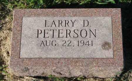 PETERSON, LARRY D. - Clay County, South Dakota | LARRY D. PETERSON - South Dakota Gravestone Photos