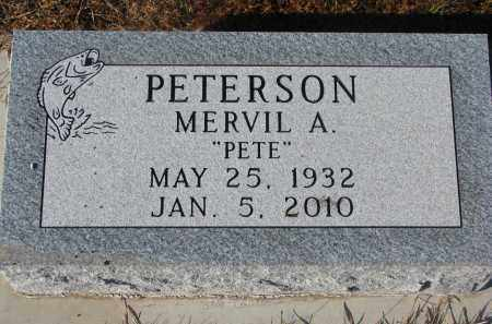 """PETERSON, MERVIL A. """"PETE"""" - Clay County, South Dakota 