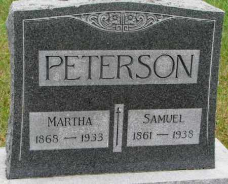 PETERSON, SAMUEL - Clay County, South Dakota | SAMUEL PETERSON - South Dakota Gravestone Photos