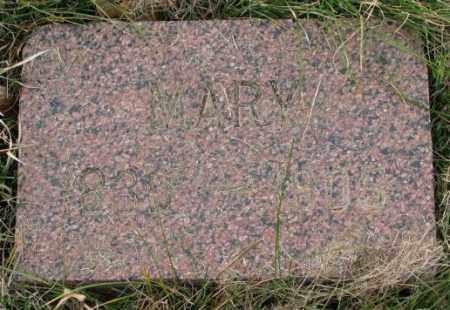 PETERSON, MARY - Clay County, South Dakota   MARY PETERSON - South Dakota Gravestone Photos
