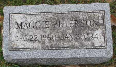 PETERSON, MAGGIE - Clay County, South Dakota | MAGGIE PETERSON - South Dakota Gravestone Photos