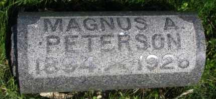 PETERSON, MAGNUS A. - Clay County, South Dakota | MAGNUS A. PETERSON - South Dakota Gravestone Photos
