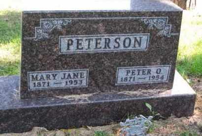 PETERSON, PETER O. - Clay County, South Dakota | PETER O. PETERSON - South Dakota Gravestone Photos