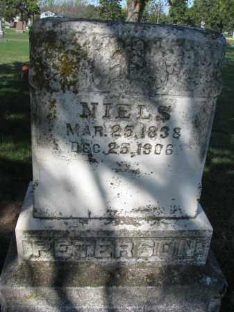 PETERSON, NIELS - Clay County, South Dakota | NIELS PETERSON - South Dakota Gravestone Photos