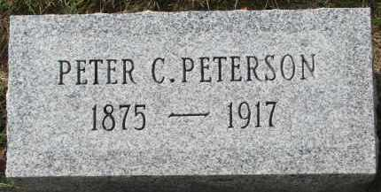 PETERSON, PETER C. - Clay County, South Dakota | PETER C. PETERSON - South Dakota Gravestone Photos