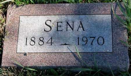 PETERSON, SENA - Clay County, South Dakota | SENA PETERSON - South Dakota Gravestone Photos