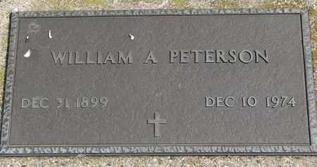 PETERSON, WILLIAM A. - Clay County, South Dakota | WILLIAM A. PETERSON - South Dakota Gravestone Photos