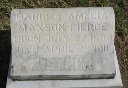 PIERCE, HARRIET AMELIA - Clay County, South Dakota | HARRIET AMELIA PIERCE - South Dakota Gravestone Photos