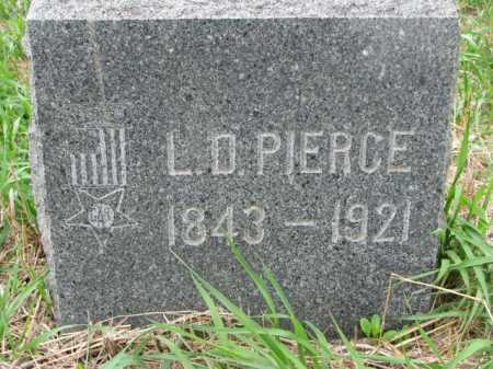 PIERCE, L.D. - Clay County, South Dakota | L.D. PIERCE - South Dakota Gravestone Photos