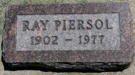 PIERSOL, RAY - Clay County, South Dakota | RAY PIERSOL - South Dakota Gravestone Photos