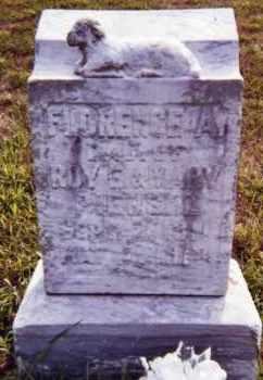 PIERSOL, FLORENCE A. - Clay County, South Dakota | FLORENCE A. PIERSOL - South Dakota Gravestone Photos