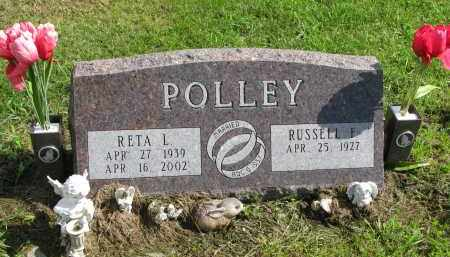 POLLEY, RUSSELL F. - Clay County, South Dakota | RUSSELL F. POLLEY - South Dakota Gravestone Photos