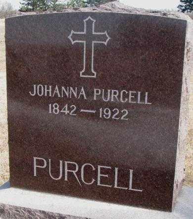 PURCELL, JOHANNA - Clay County, South Dakota   JOHANNA PURCELL - South Dakota Gravestone Photos