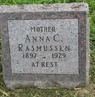 RASMUSSEN, ANNA C. - Clay County, South Dakota | ANNA C. RASMUSSEN - South Dakota Gravestone Photos