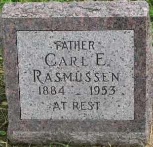 RASMUSSEN, CARL E. - Clay County, South Dakota | CARL E. RASMUSSEN - South Dakota Gravestone Photos