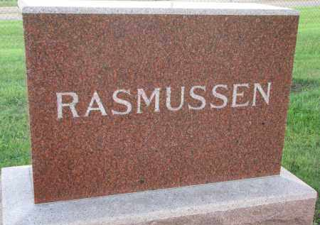 RASMUSSEN, FAMILY STONE - Clay County, South Dakota | FAMILY STONE RASMUSSEN - South Dakota Gravestone Photos