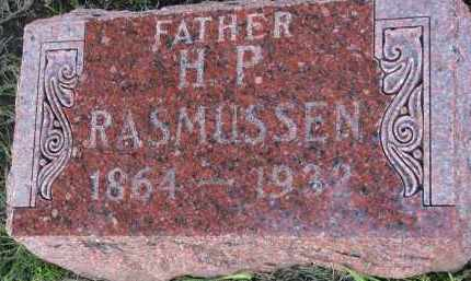 RASMUSSEN, H.P. - Clay County, South Dakota   H.P. RASMUSSEN - South Dakota Gravestone Photos