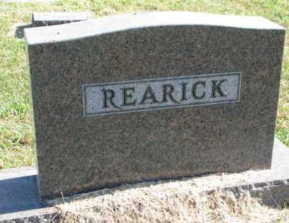REARICK, FAMILY STONE - Clay County, South Dakota | FAMILY STONE REARICK - South Dakota Gravestone Photos