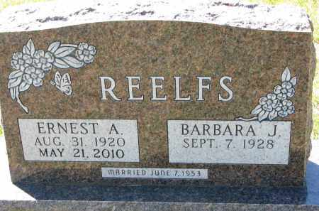 REELFS, BARBARA J. - Clay County, South Dakota | BARBARA J. REELFS - South Dakota Gravestone Photos