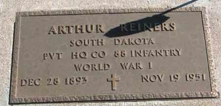REINERS, ARTHUR - Clay County, South Dakota | ARTHUR REINERS - South Dakota Gravestone Photos