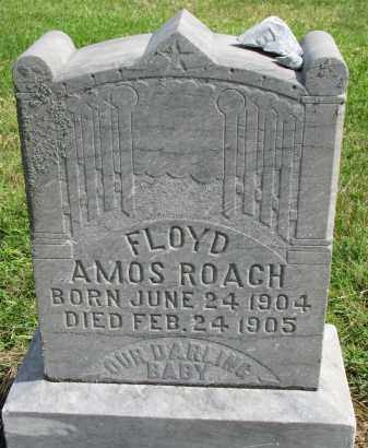 ROACH, FLOYD AMOS - Clay County, South Dakota | FLOYD AMOS ROACH - South Dakota Gravestone Photos