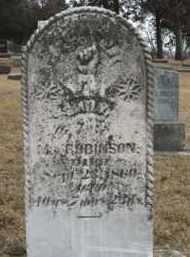 ROBINSON, EMILY - Clay County, South Dakota | EMILY ROBINSON - South Dakota Gravestone Photos
