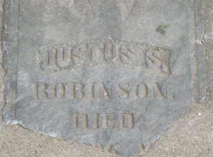 ROBINSON, JUSTUS S. - Clay County, South Dakota   JUSTUS S. ROBINSON - South Dakota Gravestone Photos
