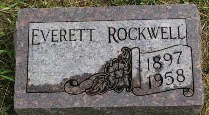 ROCKWELL, EVERETT - Clay County, South Dakota | EVERETT ROCKWELL - South Dakota Gravestone Photos