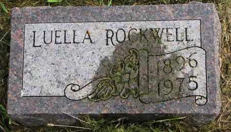 ROCKWELL, LUELLA - Clay County, South Dakota | LUELLA ROCKWELL - South Dakota Gravestone Photos