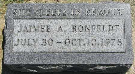 RONFELDT, JAIMEE A. - Clay County, South Dakota | JAIMEE A. RONFELDT - South Dakota Gravestone Photos