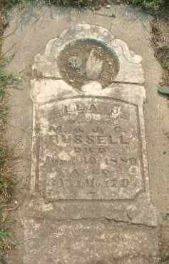 RUSSELL, ELLA J. - Clay County, South Dakota | ELLA J. RUSSELL - South Dakota Gravestone Photos