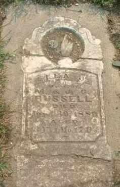 RUSSELL, ELLA J. - Clay County, South Dakota | ELLA J. RUSSELL - South Dakota Gravestone Photos
