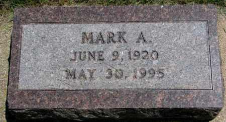 RYKEN, MARK A. - Clay County, South Dakota | MARK A. RYKEN - South Dakota Gravestone Photos