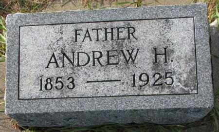 SAMPSON, ANDREW H. - Clay County, South Dakota | ANDREW H. SAMPSON - South Dakota Gravestone Photos