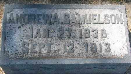 SAMUELSON, ANDREW A. - Clay County, South Dakota | ANDREW A. SAMUELSON - South Dakota Gravestone Photos