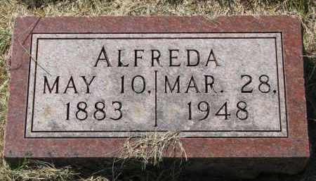 SAMUELSON, ALFREDA - Clay County, South Dakota | ALFREDA SAMUELSON - South Dakota Gravestone Photos